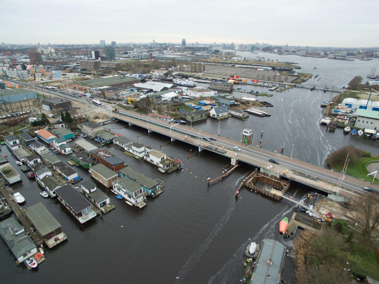 Reconstructie Klaprozenweg Amsterdam