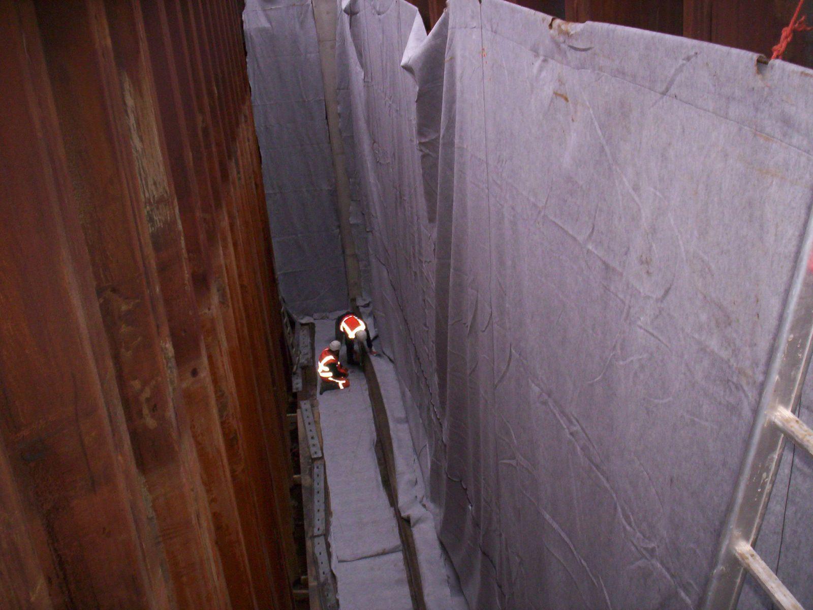 Folie onder tunneltoeritten, Peelo Zuid